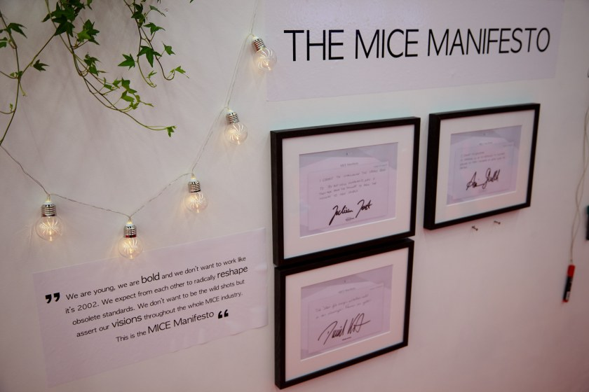 The MICE manifesto is a bold move towards a more innovative eventtech industry